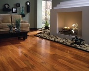 home cleaning  hardwood floors